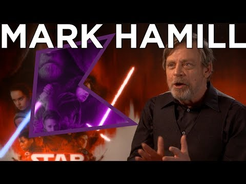 Mark Hamill on The Last Jedi, his favourite character and the dark side!