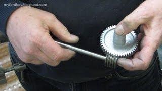 видео: Worm & Worm Wheel Free Hobbing Method