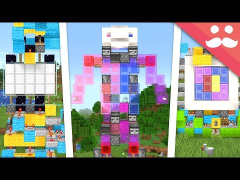 Coloured Slimeblocks in Minecraft thumbnail