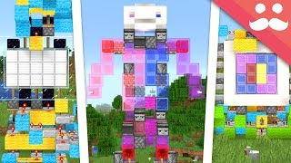 Coloured Slimeblocks in Minecraft