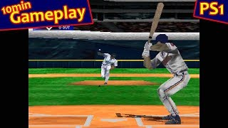 VR Baseball 99 ... (PS1) 60fps