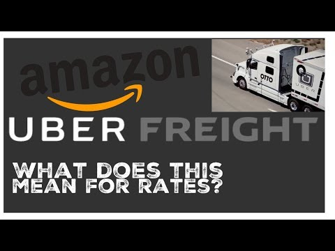 Uber Freight , Amazon , & Driverless trucks . what about freight rates