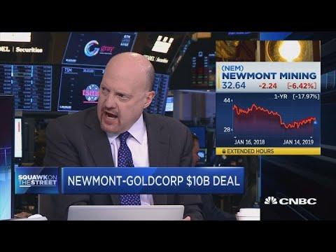 Jim Cramer: Barrick-Randgold Deal Was Better Than Newmont Acquisition