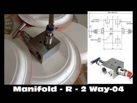 2 way Manifold Valves for Instrumentation and Process Control
