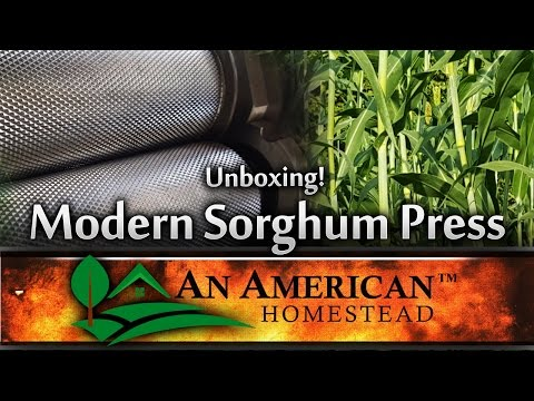 The Modern Sorghum Press - Unboxing