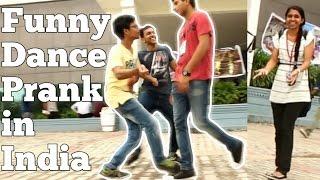 Awkward Dance Prank- Prank in India at SRM Univ...