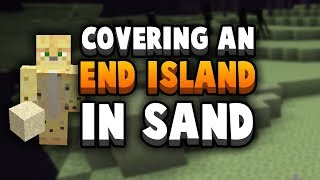 Covering My End In Sand, By Hand