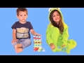 Learn colours playing Caterpillars!  Fun kids games to play inside