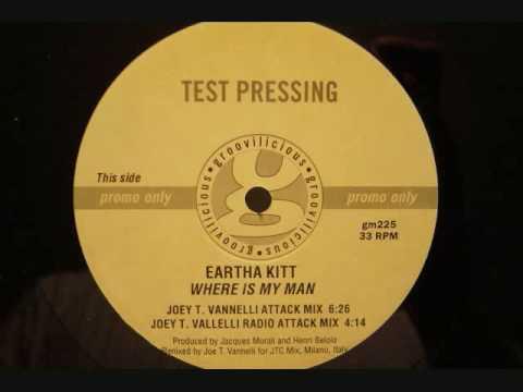 Eartha Kitt - Where Is My Man - Joe T. Vanelli Attack mix