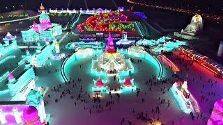 Миллионы туристов и внимание к деталям на фестивале льда в Харбине (новости)