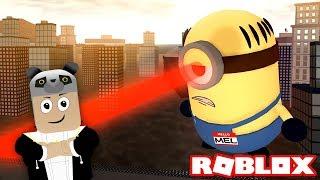 Sonunda Robot Minyonu Durdurduk!! - Panda ile Roblox Minions Adventure Obby