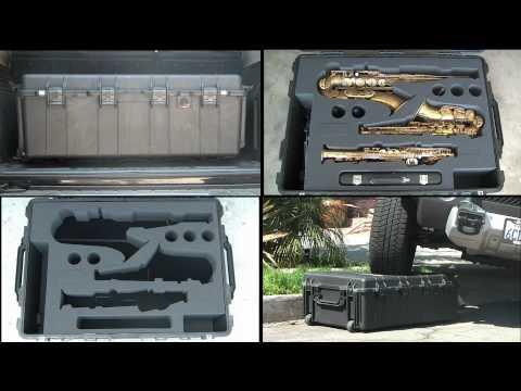 Saxophone Tour Case by Battle Cases