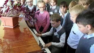 На уроке музыки