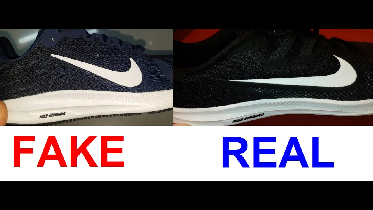 Real vs Fake Nike Downshifter. How to