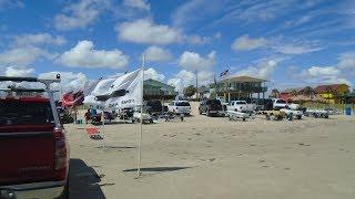 GALVESTON BEACH DURING LABOR DAY LONG WEEKEND