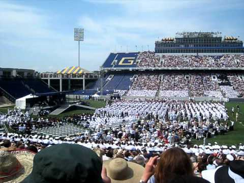 USNA 2011 Navy Ensign Oath of Office
