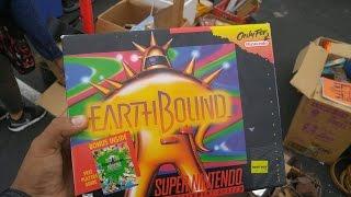 Video Game Hunting Live#52 Rare Earthbound CIB