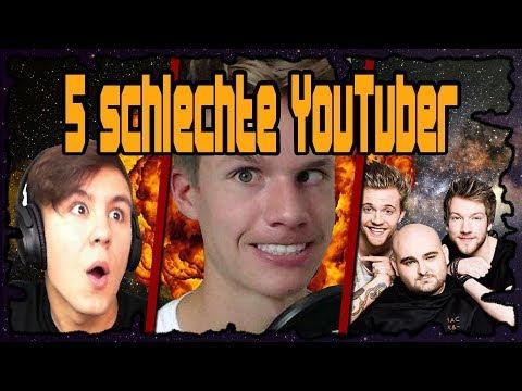5 Youtuber, die schlecht geworden sind