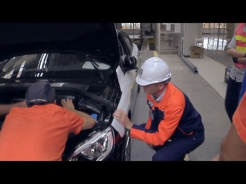Volvo Cars manufacturing plant in Chengdu, China