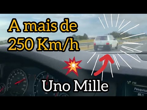 Fiat Uno Fire Turbo A Mais De 250km/h (sem Escada No Teto)