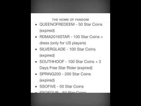 Star stable redeem codes december 2016 Images
