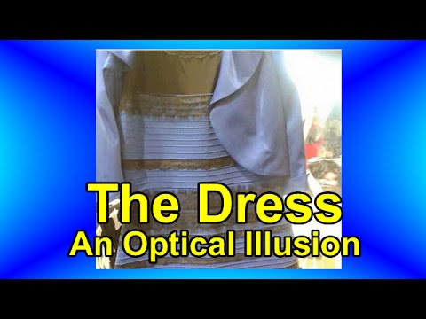 The Dress An Optical Illusion Youtube