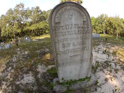 Electra Cemetery In Ocala National Forest