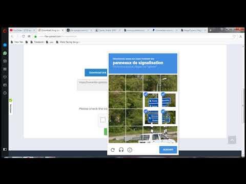 كيفية تجاوزمشكل CAPTCHA في موقع FILE-UPLAUD
