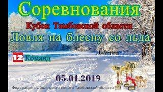 Кубок Тамбовской области,ловля на блесну со льда!