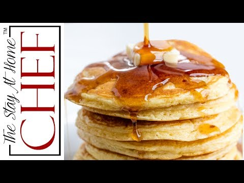How to Make Perfect Pancakes | The Stay At Home Chef