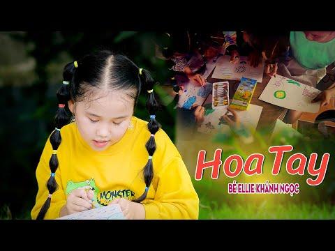 Bé Ellie Khánh Ngọc 🍓 Hoa Tay 🍓 Nhạc Thiếu Nhi Cho Bé Sôi Động 🍓 Nhacpro Kids 🍓 Mầm Chồi Lá