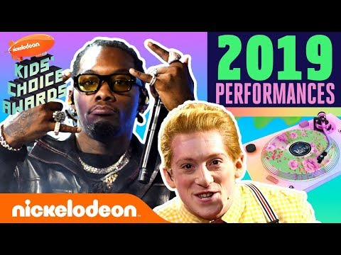 Migos & SpongeBob the Musical Cast Rock the KCA Stage | 2019 Kids' Choice Awards PERFORMANCES | Nick