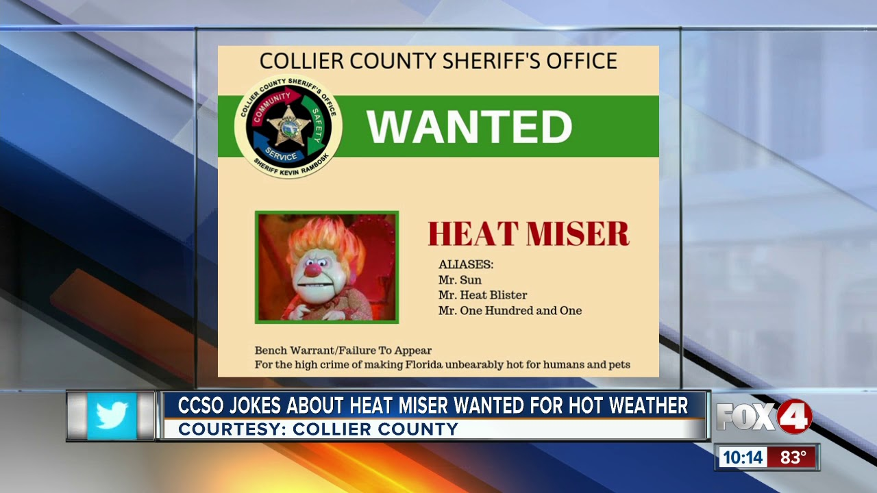 Wanted posted posted for Heat Miser
