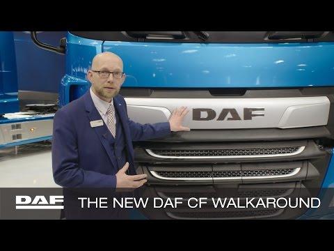 DAF Trucks UK | New DAF CF walk-around with Phil Moon | 2017 CV Show