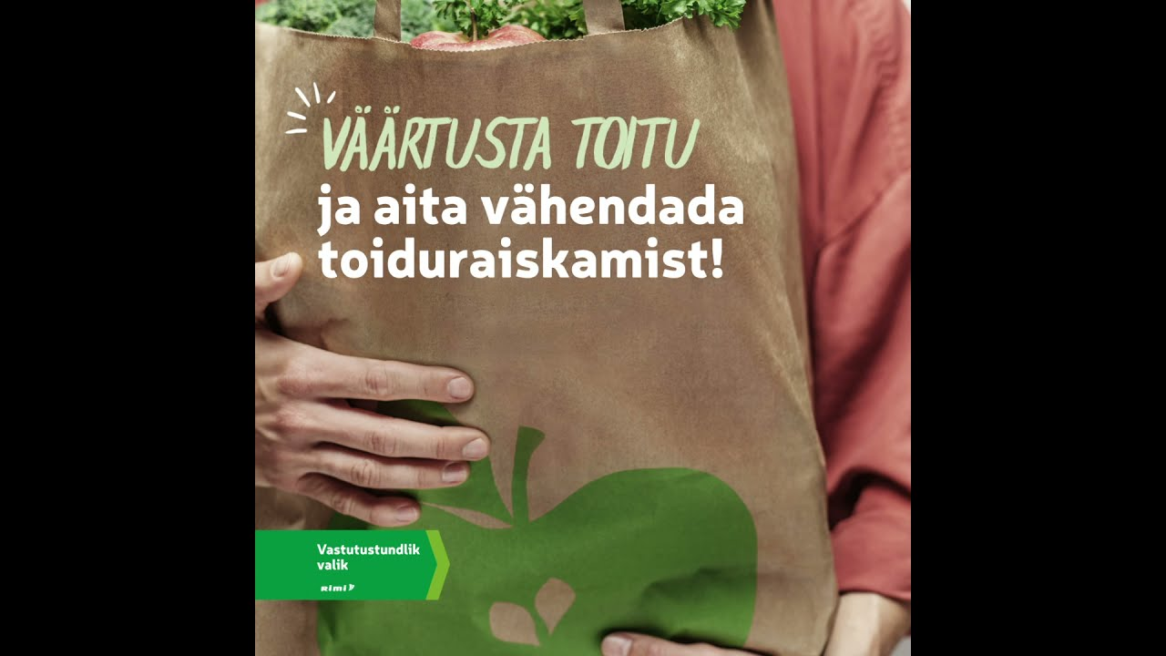 🙏Väärtusta toitu ja aita vähendada toiduraiskamist!
