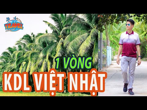 1 vòng khu du lịch sinh thái Việt Nhật ở Bến Tre | Du lịch Miền Tây