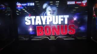Ghostbusters Game Vigo And Stay Puft Levels Dave & Buster's Milwaukee, Wi 1-21-17