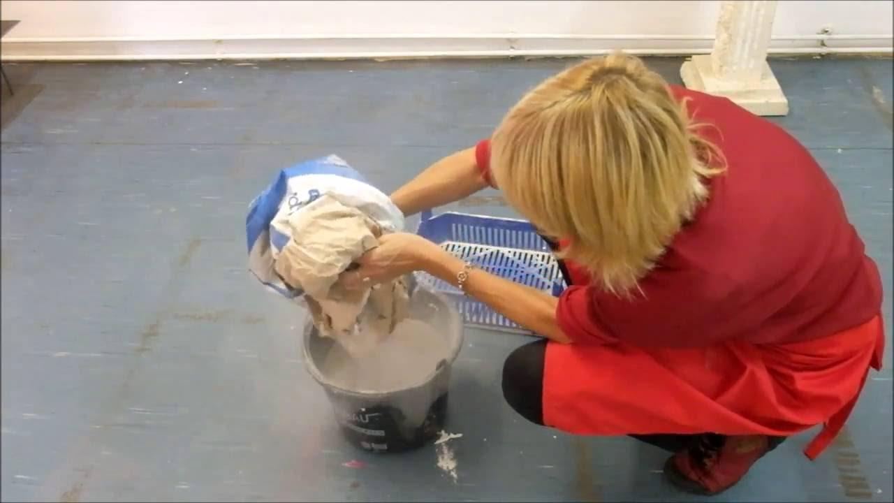 Gipsform Selber Herstellen Making A Plaster Mold Youtube