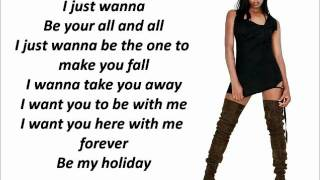 Jamelia - Something about you with lyrics on screen