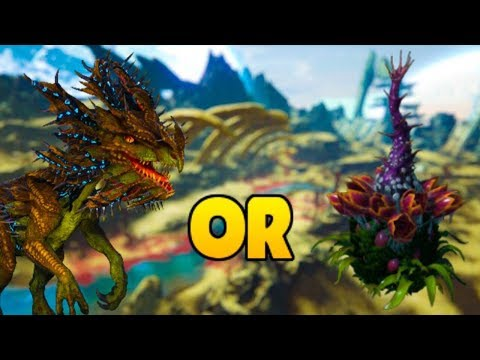 Velonasaur V.S Plant Turret (Plant Species X)! Which is BETTER? - ARK