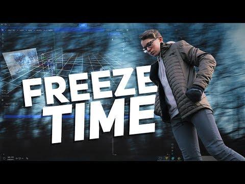 TIME FREEZE EFFECT // HitFilm Tutorial