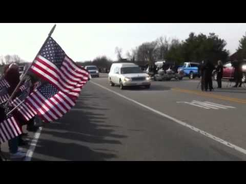 SFC Barry Jarvis funeral