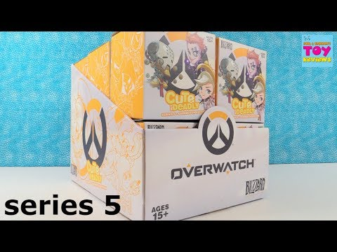 Overwatch Cute But Deadly Series 5 Blizzard Blind Box Figures Unboxing | PSToyReviews