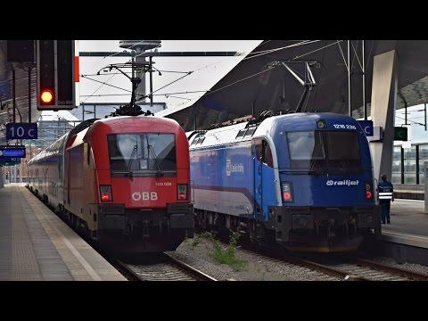 Züge Wien Hauptbahnhof, SOMMER 2015