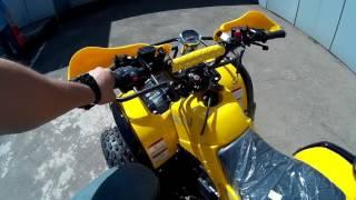 Обзор детского квадроцикла ATV Classic 8+ Plus 125 кубов