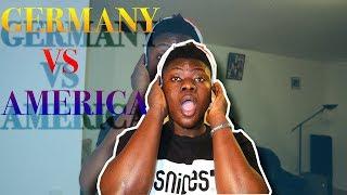 FIRST REACTION TO GERMAN RAP/HIP HOP vs AMERICAN HIP HOP!!
