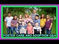 FOSTER CARE AND ADOPTION Q&A | JAMIE Q&A PART 1