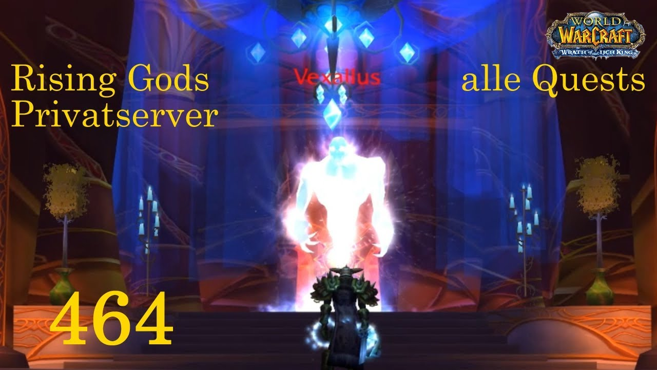 Wow Rising Gods 464 Die Terrasse Der Magister 2 3 Let S Play