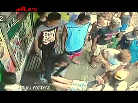 Milk tea poisoning captured in Manila on CCTV | Alisto