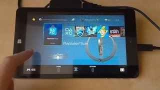 Превращаем Windows планшет в PS4(PS4 Remote Play)